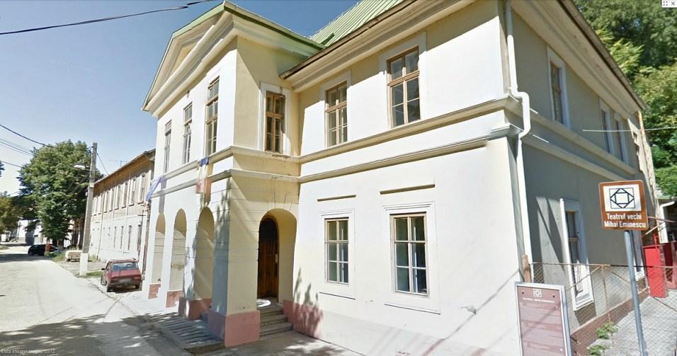 """Teatrul vechi """"Mihai Eminescu"""" Oraviţa"""