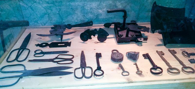 23 - Galerie muzeu, exponate