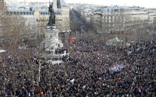 Marsul Solidaritatii Paris 11.01 (2)