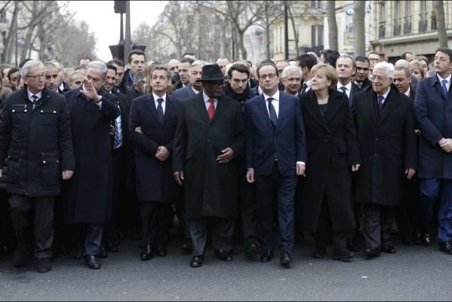Marsul solidaritatii sefi de stat