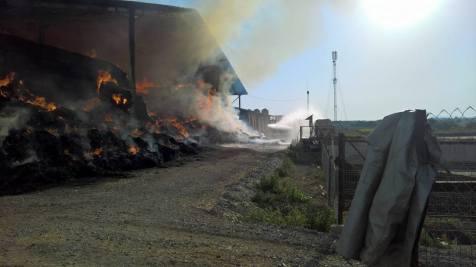 incendiu ferma 4.08.17