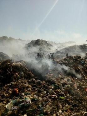 incendiu groapa de gunoi lipova (2)