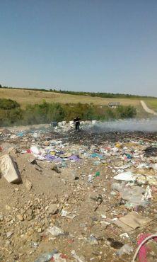 incendiu groapa de gunoi lipova (4)