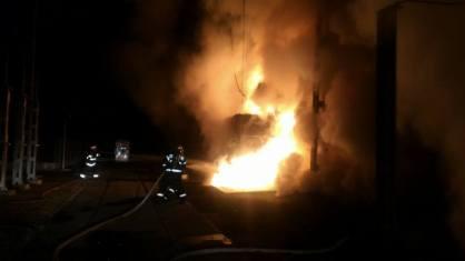 incendiu transformator mall (4)