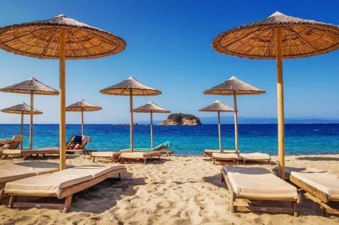 Troulos Beach Skiathos