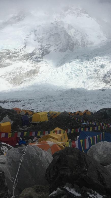 Tabara de baza Colibasanu Himalaya