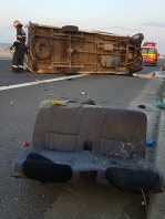accident autostrada Deva Sebes 26 mai 2018 5