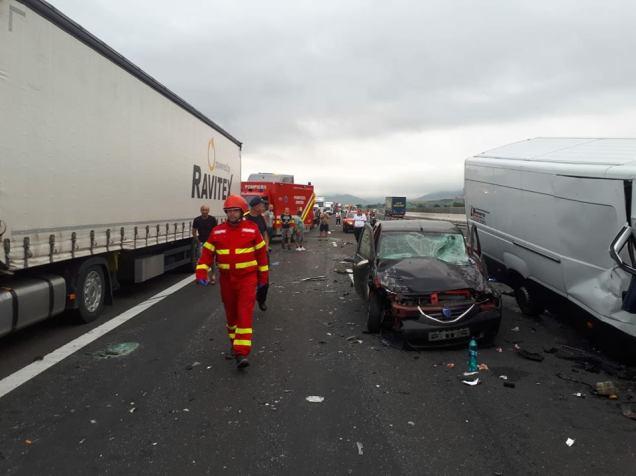 accident autostrada A1 contrasens (1)