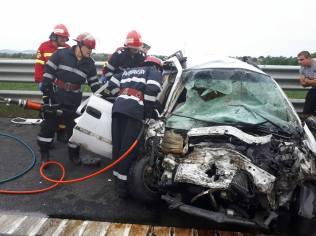 accident autostrada A1 contrasens (5)