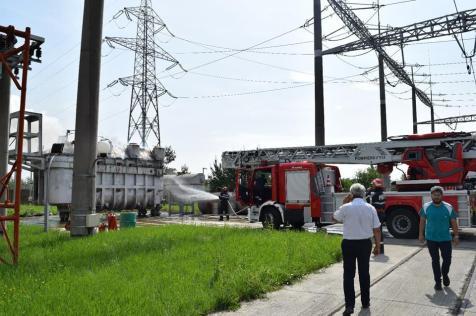 incendiu transformator 1
