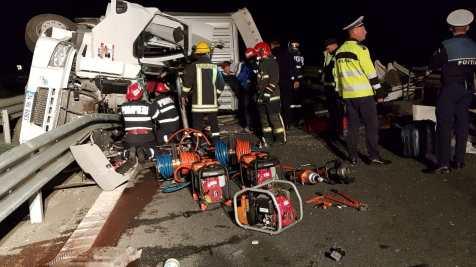 accident autostrada arad (9)