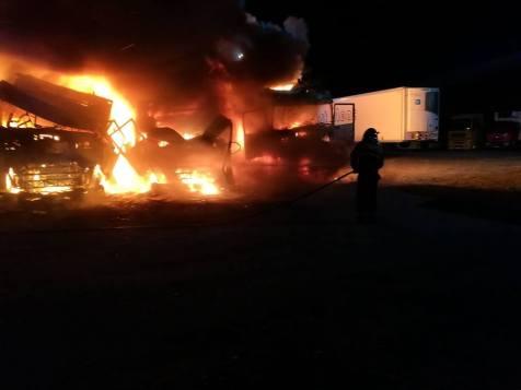 incendiu parcare Arad (5)