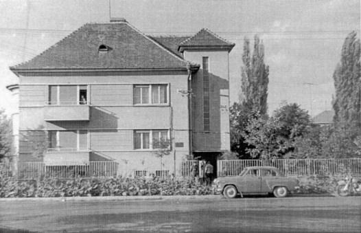 Sediul vechi de pe str. Cluj