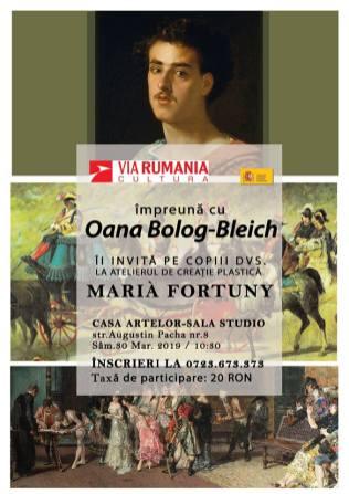 190330 MariaFortuny ViaRumaniaCultura