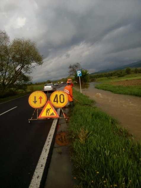 drum inundat DN 68 Obreja CS Foto DRDP 2