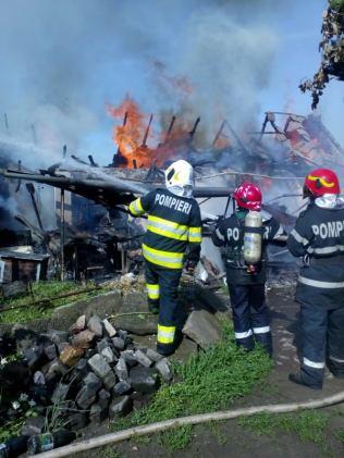 incendiu Sannicolau Mare ISU Timis (3)