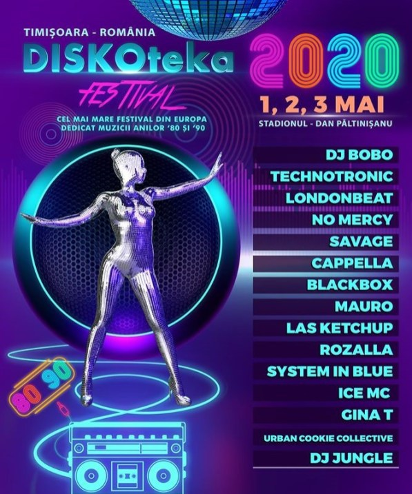 Diskoteka Festival 2020 Afis v. 2.2