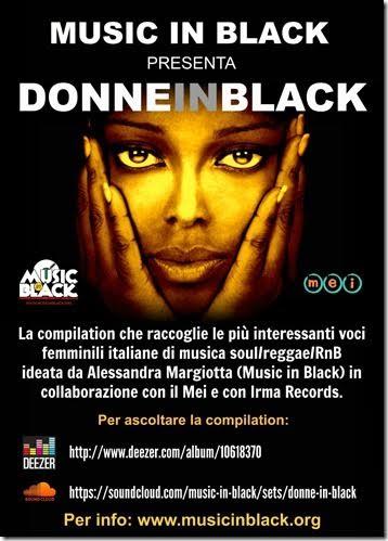 donnein black
