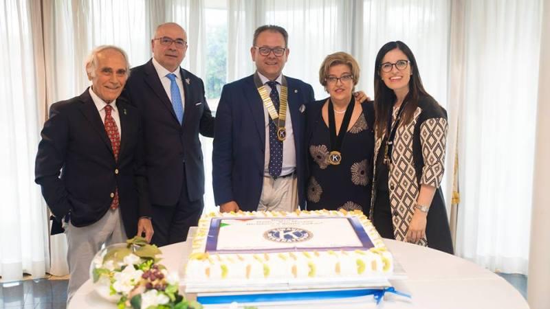 La dottoressa Valeria Commendatore, primario del reparto di Pediatria dell'Ospedale è il nuovo presidente del Kiwanis di Lentini