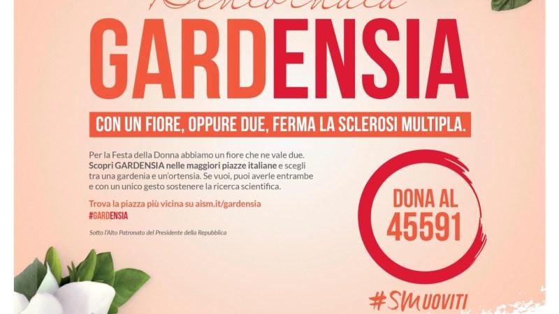 Siracusa, Bentornata Gardensia, per la Festa della Donna sabato 9 e domenica 10 marzo in oltre 5 mila piazze.