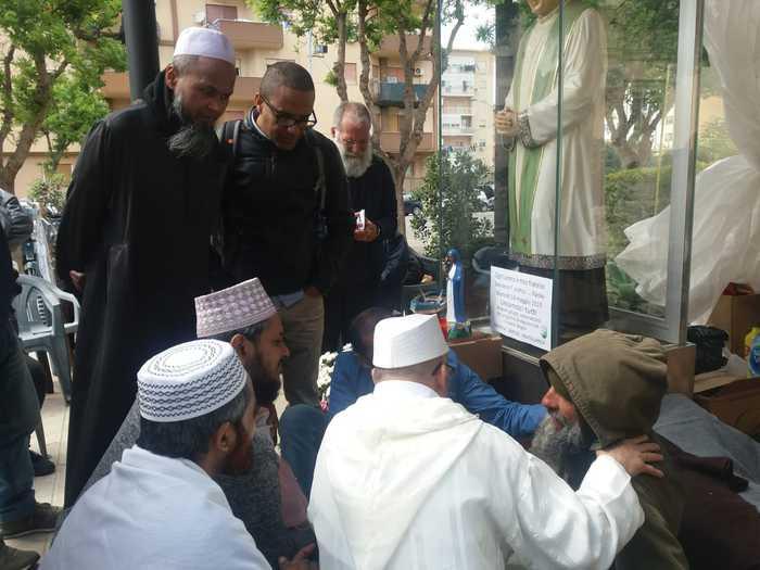 Palermo, Solidarietà a Biagio Conte,anche Berradi