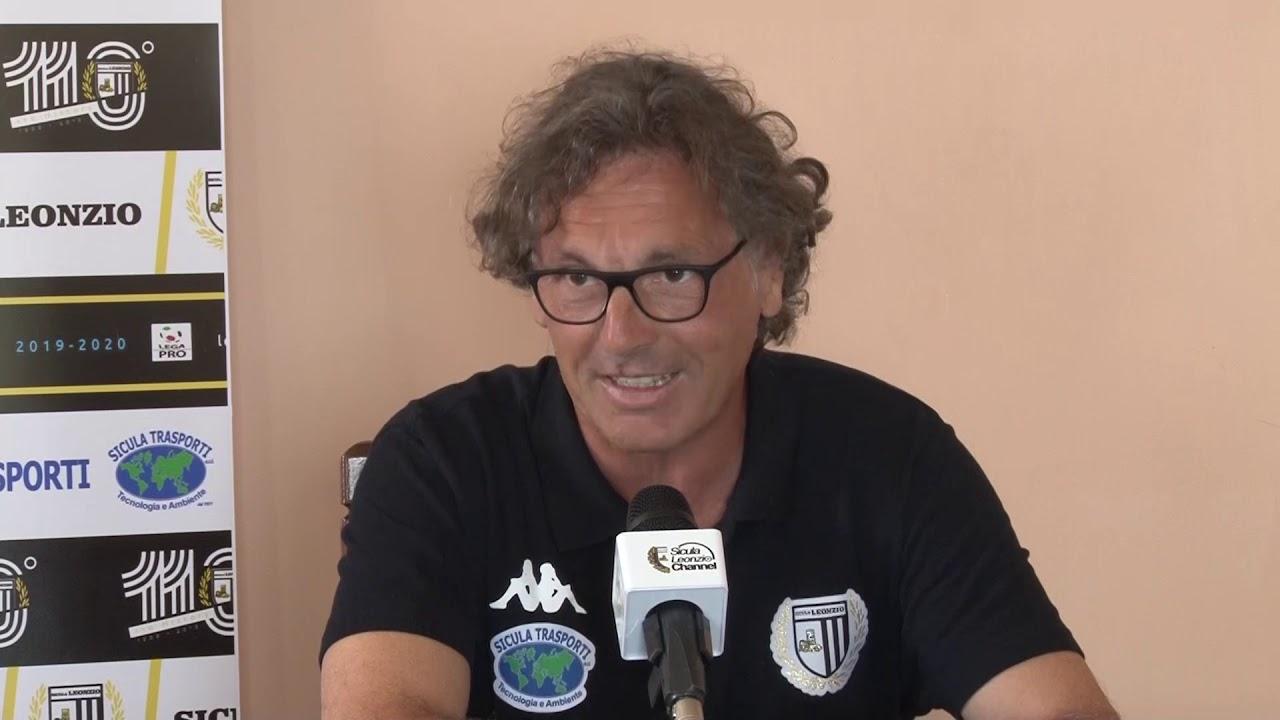 """Sicula Leonzio – Bari, l'allenatore bianconero Vito Grieco: """"Doppia emozione, ma noi puntiamo al risultato"""" Le probabili formazioni di Sicula Leonzio-Bari: ritorno al 4-2-3-1 per Cornacchini?"""