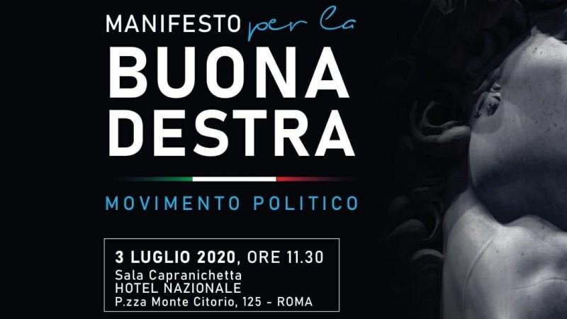 Roma, Presentato il manifesto della Buona destra. Tra i partecipanti l'ex presidente della Provincia Nicola Bono