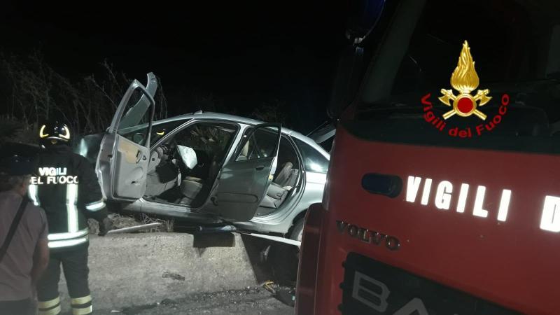 Pachino, Incidente stradale sulla Pachino-Portopalo, due feriti
