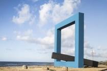 Monumento per un poeta morto (Finestra sul mare) - Tano Festa