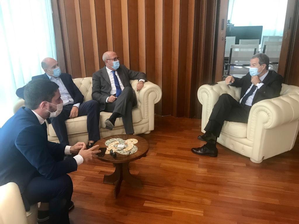 Rifiuti: tre sindaci di Lentini, Carlentini e Francofonte  incontrano il presiden della Regione Nello te Musumeci