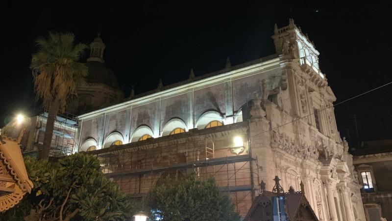 Acireale, Lavori di manutenzione straordinaria al tetto della Basilica: continua la raccolta fondi