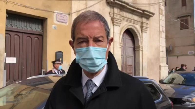 Palermo: Musumeci al via dei lavori per riqualificare l'ex ospedale militare