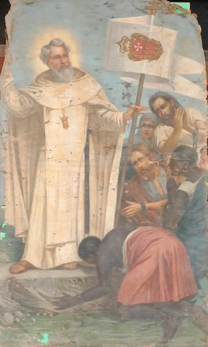 Modica, Riconsegnati a Modica dipinti del '700 spariti da chiesa