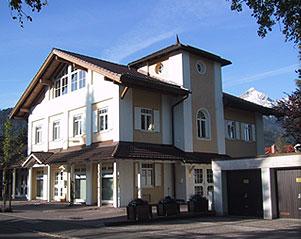 Das neue Funkhaus von Radio Oberland in der Olympiastr. 22 in Garmisch-Partenkirchen Fotoquelle: http://www.ra-gap.de