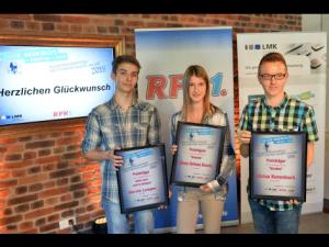Die Sieger vom letzten Jahr, Bild: RPR1.