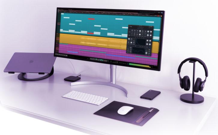 Tracktion, Waveform Free, digital audio workstation software, DAW, free DAW software