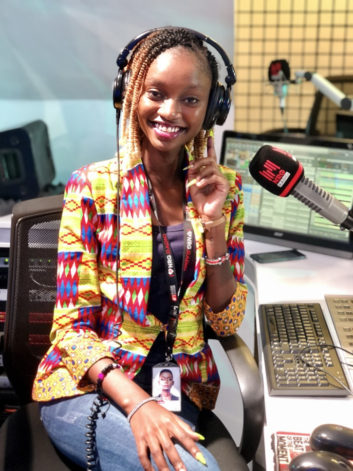 Natalie Githinji, NRG Radio, Africa radio