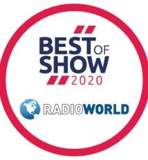 Radio World Best of Show Award 2020 logo