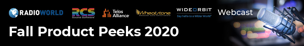 RW promo banner for Fall Sneak Peeks 2020 webcast