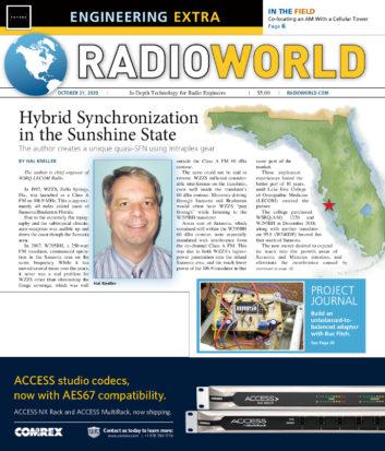 Radio World Engineering Extra