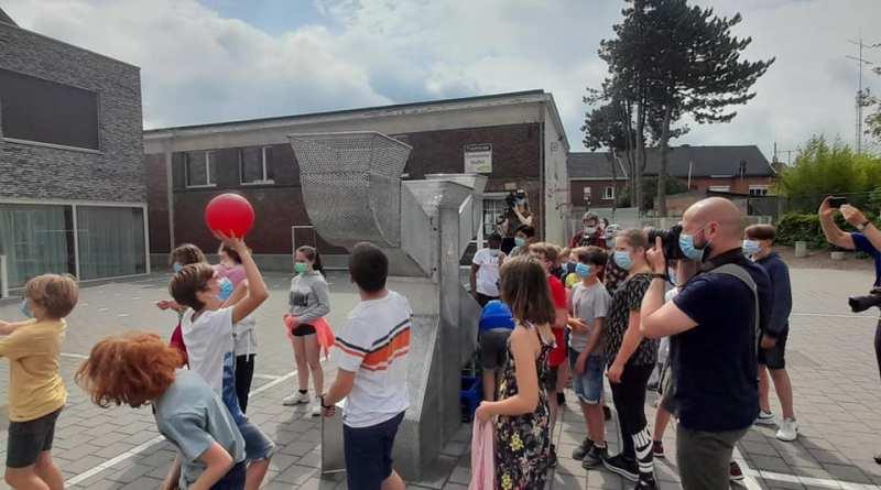 Leerlingen van GBS 't Kofschip in Duffel bedenken hun eigen droommachine