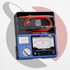 jual hioki ir3490 insulation tester analog