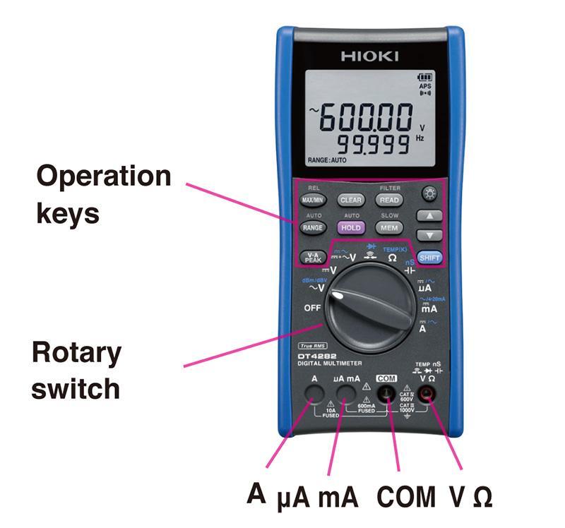 cara-menggunakan-digital-multimeter-dt4282-a