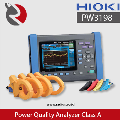 sewa power quality analyzer class A hioki pw3198