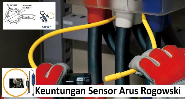 keuntungan sensor Rogowski Coil Current Sensing