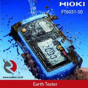 earth tester hioki ft6031-50 glodok