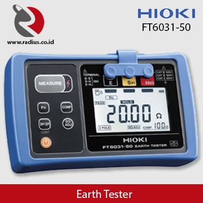 earth tester hioki ft6031-50