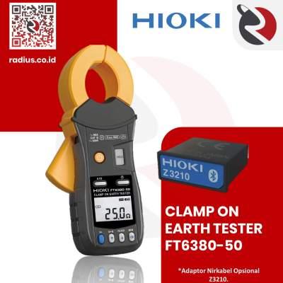 Harga hioki ft6380-50 clamp earth tester bluetooth