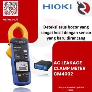 ac leakage clamp meter hioki cm4002 z3410