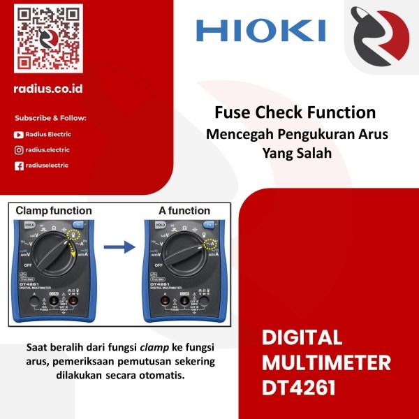 jual hioki dt4261 distributor hioki